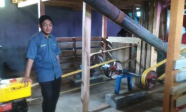 donasi pembangunan huller lumbung desa, pertanian, sinergi foundation