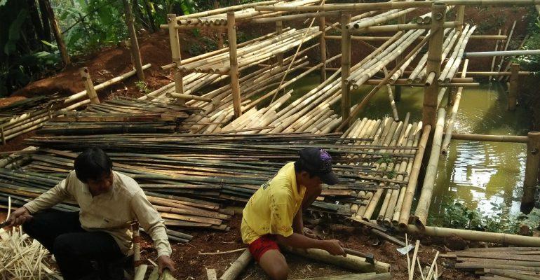 eco garden, lumbung desa, ciwangi
