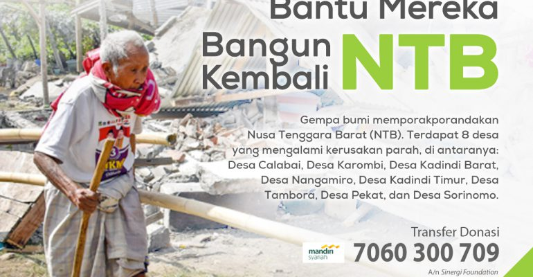 gempa, lombok, foz, help center