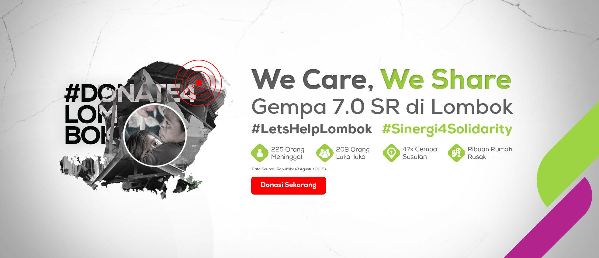 gempa lombok infografis