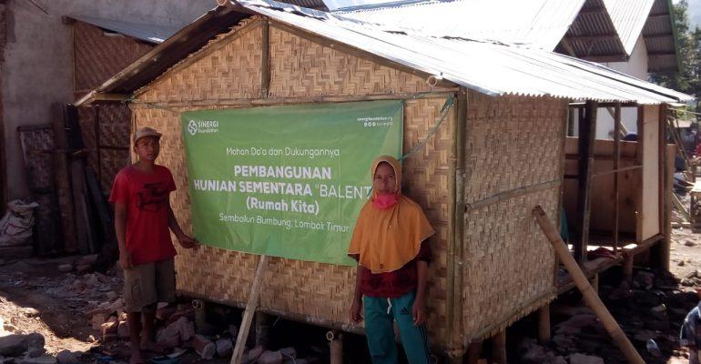 gempa bumi, lombok, let's help lombok, huntara