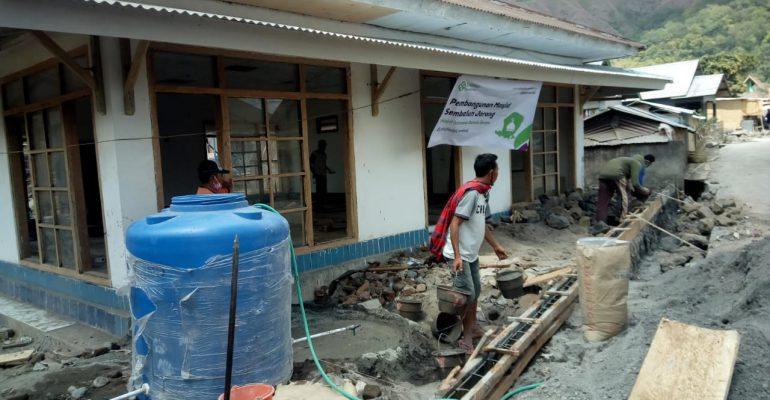 lombok, gempa bumi, bencana alam, masjid ramah gempa, pipanisasi