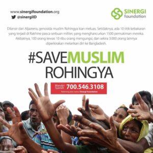 Donasi untuk Muslim Rohingya