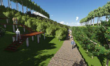 sedekah pohon produktif lumbung desa, sinegi foundation