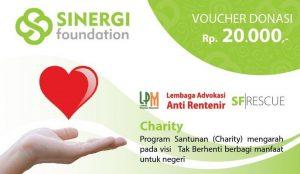 Voucher Donasi Charity