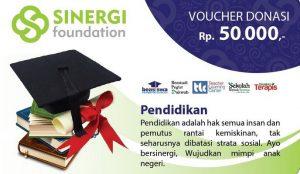 Voucher Donasi Pendidikan