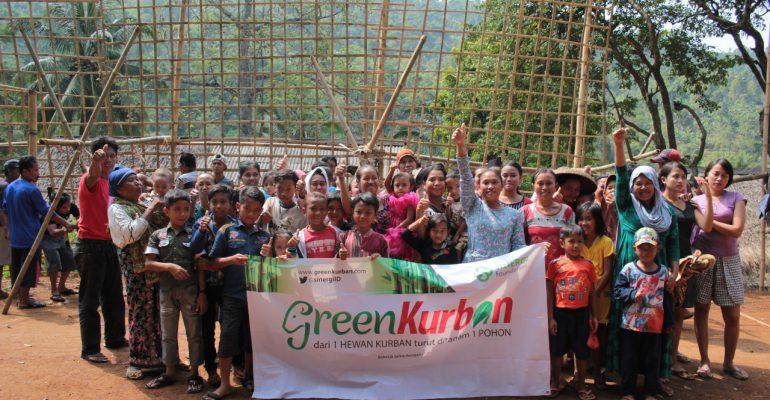 kurban, pelosok, green kurban, dhuafa