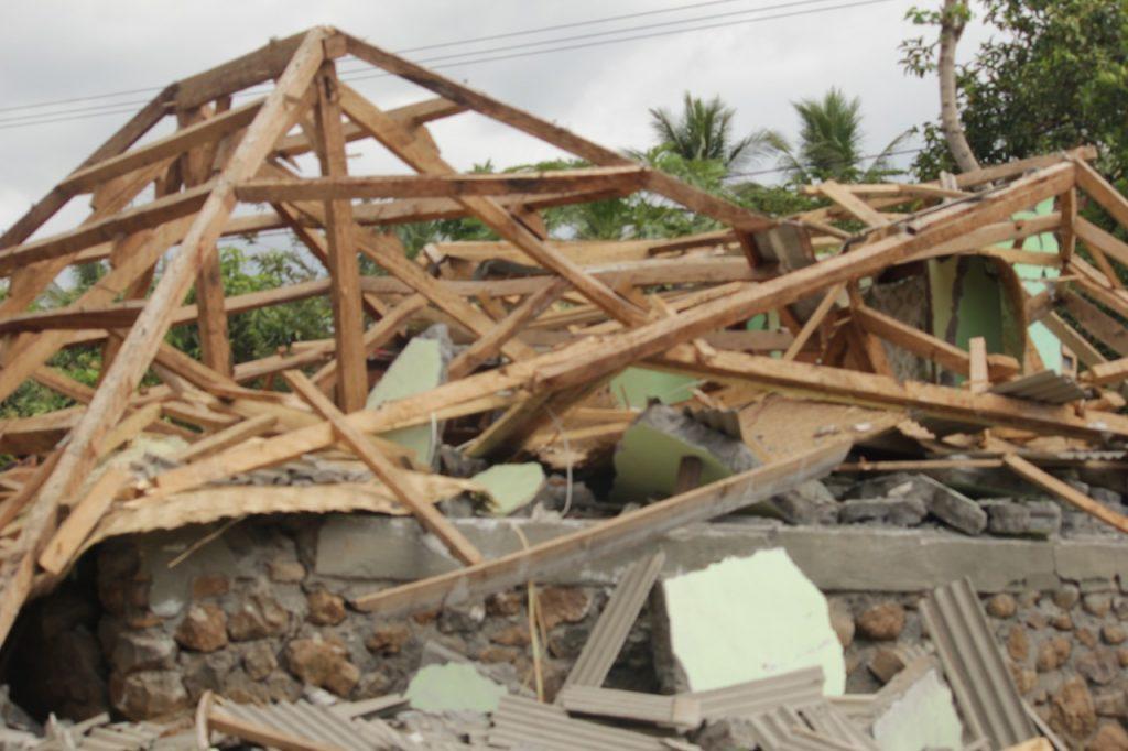 gempa bumi, gempa lombok, lombok, 7 SR, bencana alam, sembalun