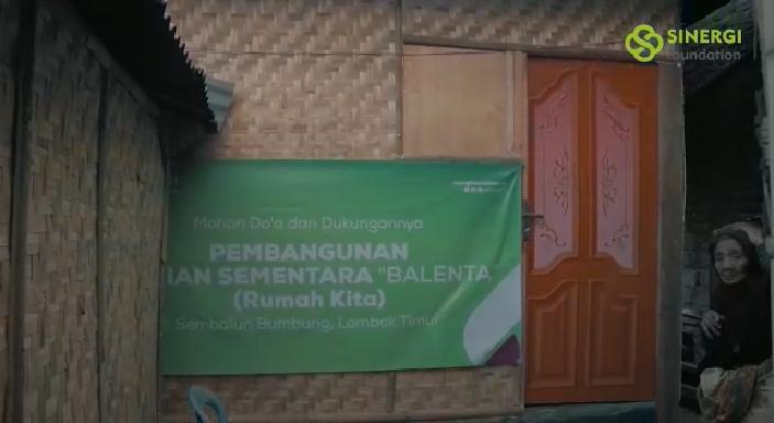 gempa bumi, huntara, let's help lombok