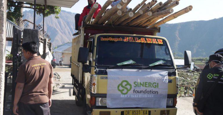 let's help lombok, lombok, gempa bumi, masjid bambu