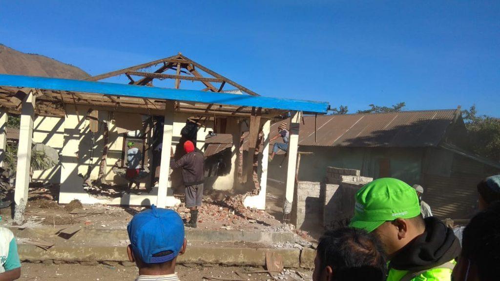 lombok, gempa lombok, bencana alam, huntara, masjid ramah gempa