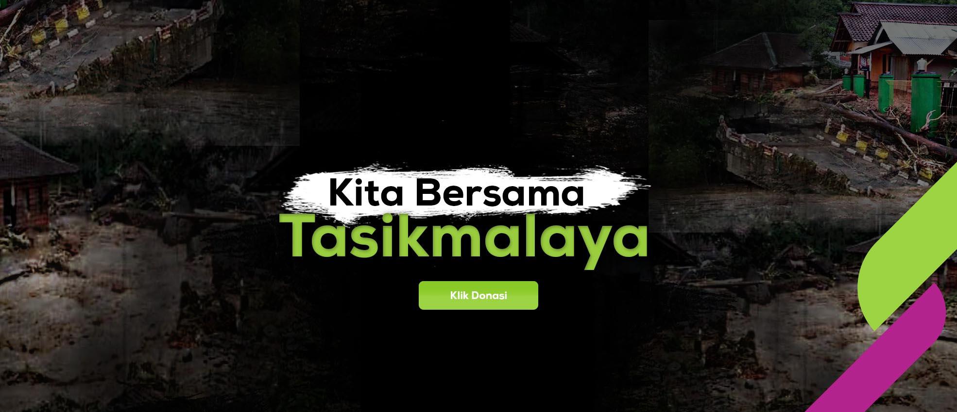kita bersama tasikmalaya, let's help tasikmalaya, banjir tasik, sinergi foundation