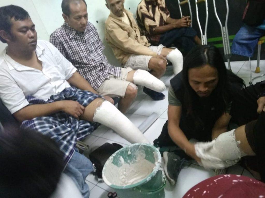 kaki palsu, disabilitas, difabel, dhuafa, sinergi pelayanan masyarakat