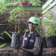 green kurban, kurban plus penghijauan, bambu, green kurban, bambu, lumbung bambu, citarum,
