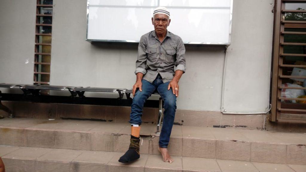 kaki palsu. spm, dhuafa, sinergi pelayanan masyarakat