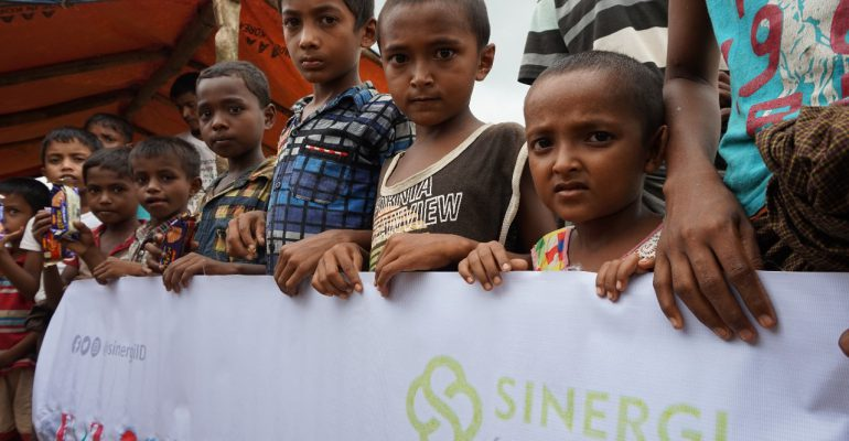 rohingya, sinergi berkah ramadhan, buka puasa, pengungsian, kemanusiaan
