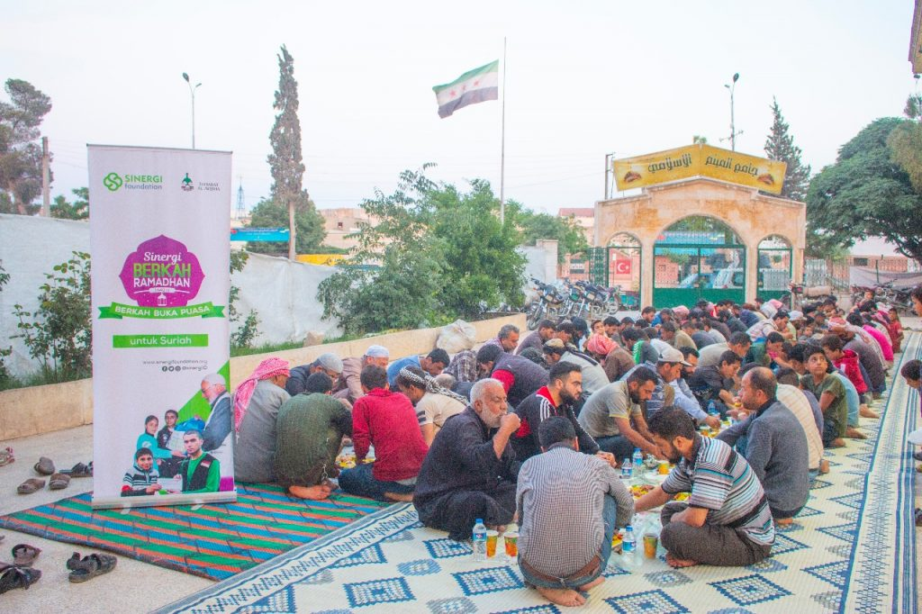 sinergi berkah ramadhan, suriah, ifthar