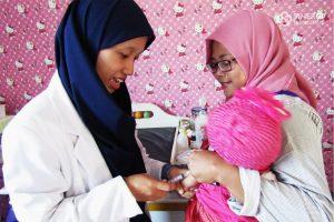 rumah bersalin cuma rbc ibu dhuafa member mendapat layanan medis pemeriksaan kesehatan persalinan, kwia, klinik wakaf ibu dan anak, wakaf, wakaf kesehatan, kesehatan, rbc, rumah bersalin cuma-cuma