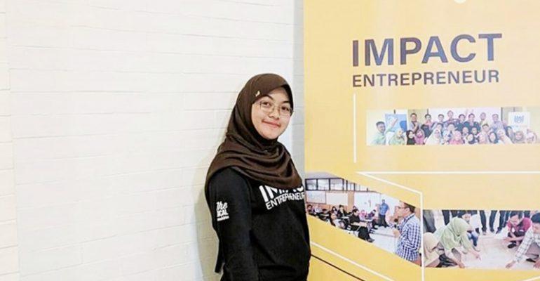 impact entrepreneur, limbah sayuran