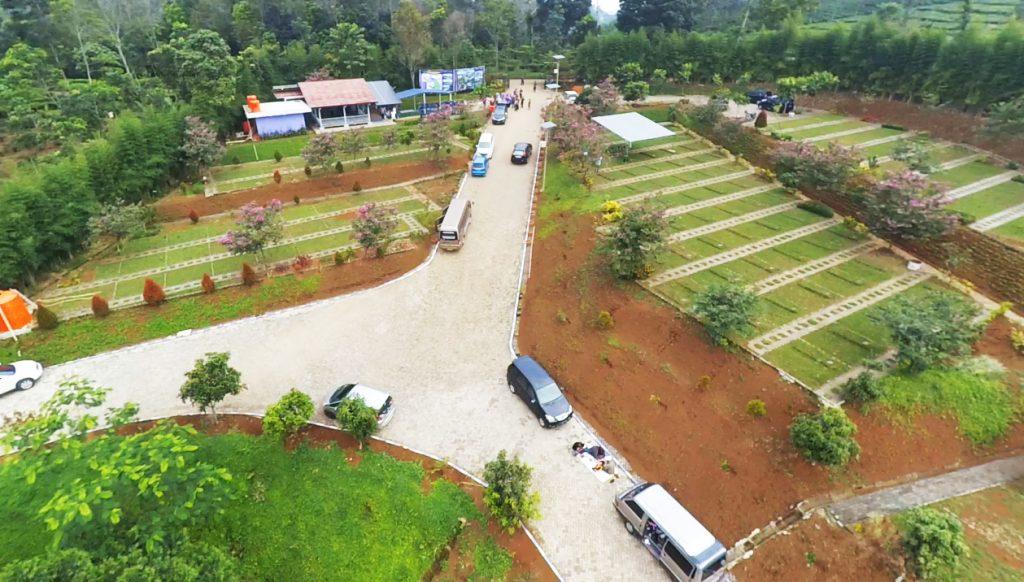 firdaus memorial park, pemakaman muslim