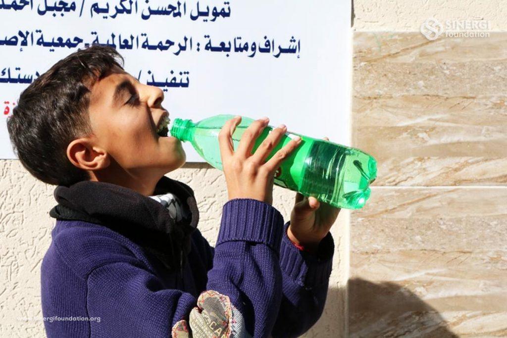 warga gaza, gaza, palestina, air, sumur wakaf