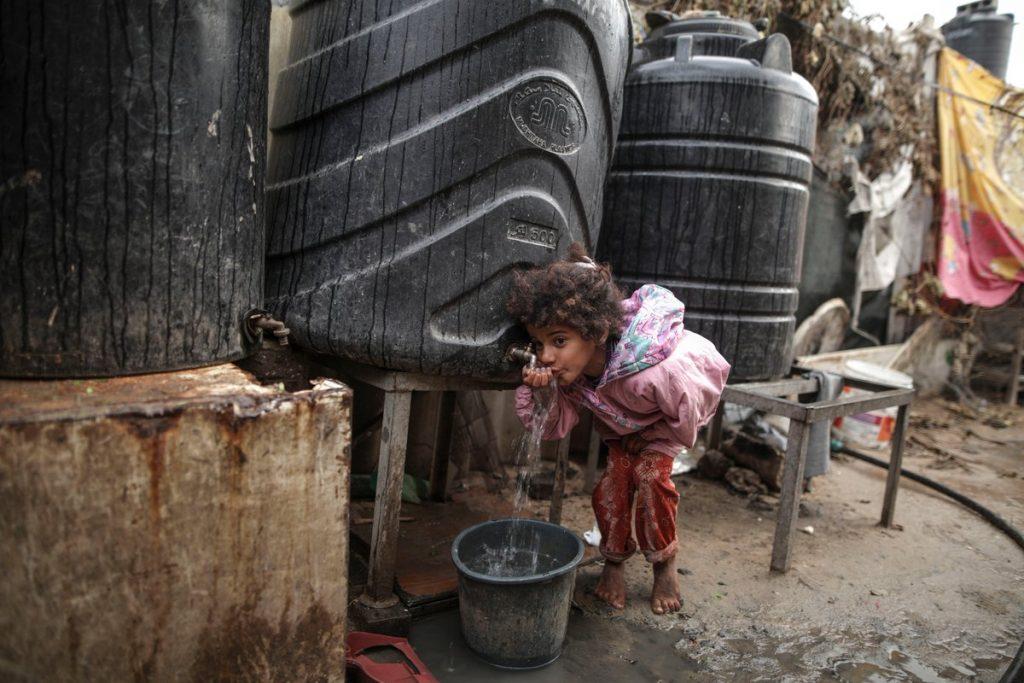 wakaf air, covid-19, gaza, palestina