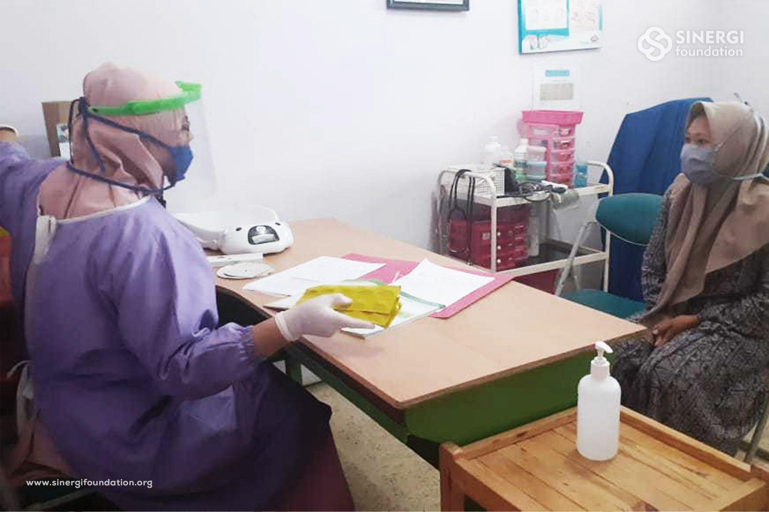 rbc, layanan, ibu, pandemi