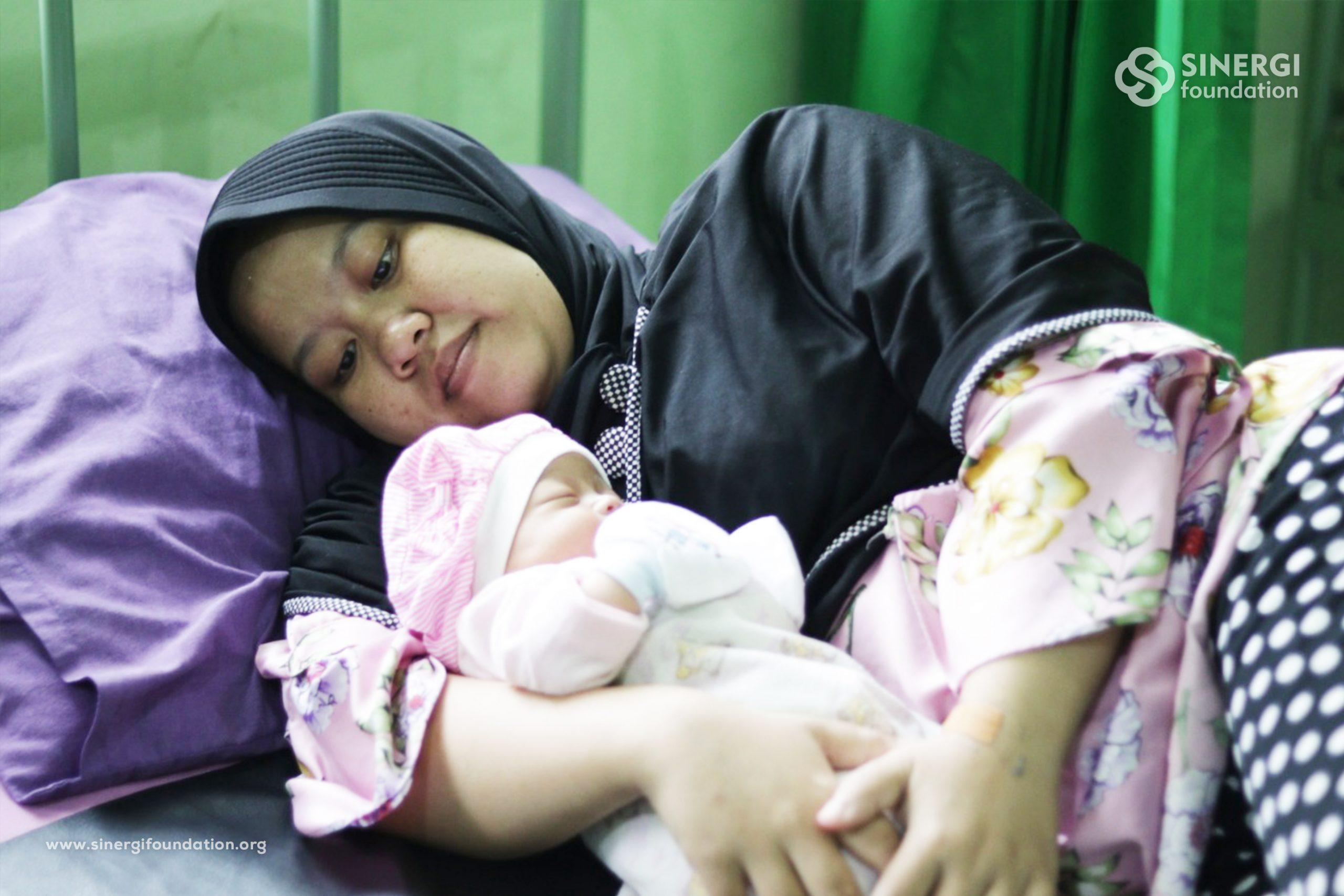 klinik wakaf ibu & anak, kwia, rumah bersalin cuma-cuma, rbc, kehamilan, persalinan, dhuafa