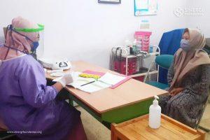 rbc, pandemi, layanan kesehatan