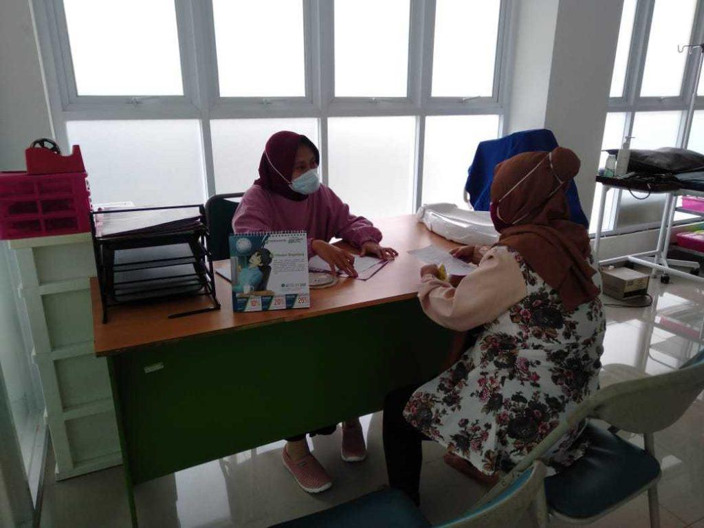 rbc, kesehatan, rumah bersalin cuma-cuma, masjid yahya idrus