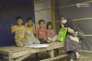 shelter, mamuju, gempa bumi