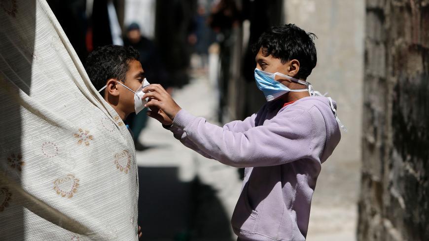 gaza, covid-19, pandemi, air, wakaf air, sumur, wakaf sumur