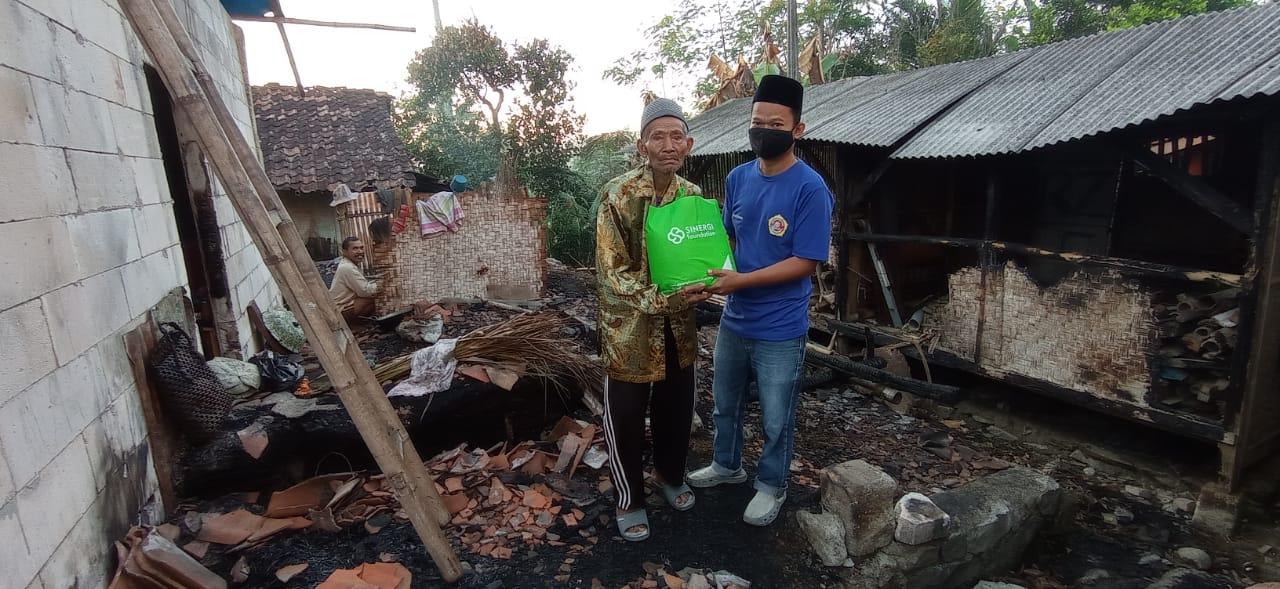 kebakaran, dhuafa, bantuan, sinergi pelayanan masyarakat
